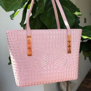 TED BAKER small shopper bag with zip top pouch.